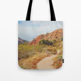 Sandy Trail Tote Bag