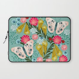 Buckeye Butterly Florals by Andrea Lauren  Laptop Sleeve
