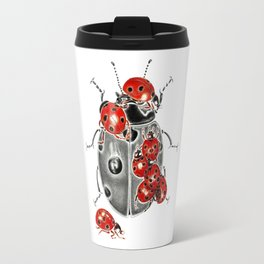 Siege of ladybugs Travel Mug