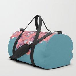 Tropical Fluo Tiles #society6 #decor #buyart Duffle Bag