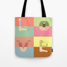 Pantless Project / LOVE (available for custom word) Tote Bag