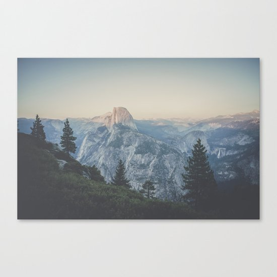 Half Dome VII Canvas Print