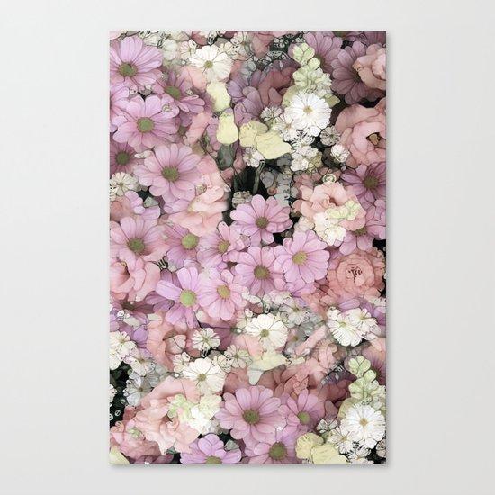 Pink Pastels Canvas Print