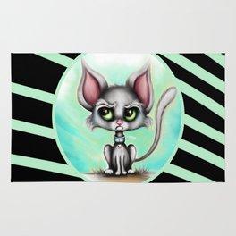 Moody Moggie - Cranky Cats Pt. 2 Rug