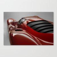 ferrari Canvas Prints featuring Ferrari by O.K.
