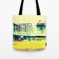 Pike Place Market | Project L0̷SS   Tote Bag