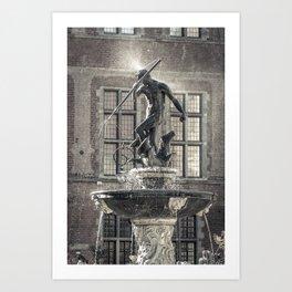Neptune's Fountain Art Print