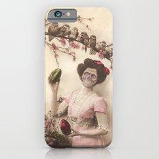 Mademoiselle skull iPhone 6s Slim Case