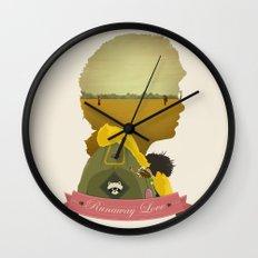 Runaway Love Wall Clock