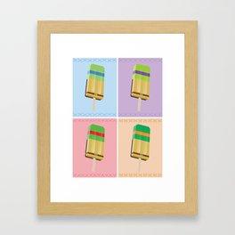 Ninja Turtles Ice Pop Art Framed Art Print