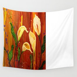 lillies Wall Tapestry