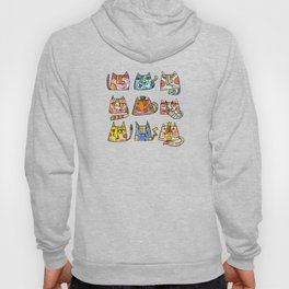 Cats characters Hoody