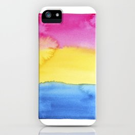 Pansexual Flag iPhone Case