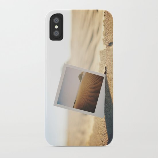 Morro Bay Polaroid iPhone Case