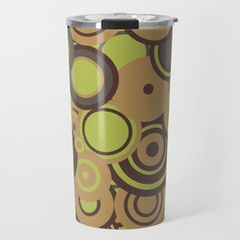 circles-orange-choc-lime Travel Mug