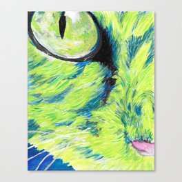 Seattle Cat Canvas Print