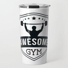 Awesome Gym Travel Mug