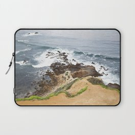 The Pacific Coast Along PVE, CA Laptop Sleeve