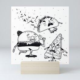 Name a better trio, I'll wait. Mini Art Print
