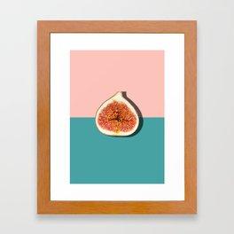 Half Slice Fruit Framed Art Print