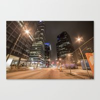 broadway Canvas Prints featuring BROADWAY  by WalterW
