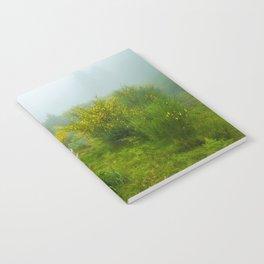 Green forest after raining Notebook