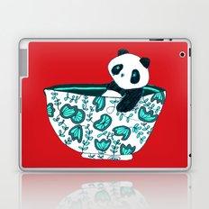 Dinnerware sets - panda in a bowl Laptop & iPad Skin