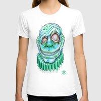 clown T-shirts featuring Clown by Kikillustration