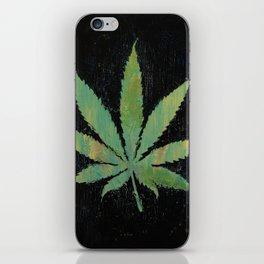 Pot Leaf iPhone Skin