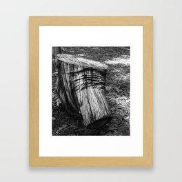 Wood Detail Framed Art Print