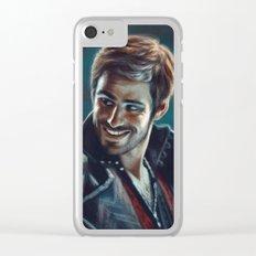 Captain Killian Jones Clear iPhone Case