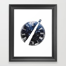Journey through space and time Framed Art Print