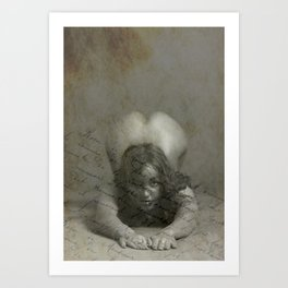 Submission Art Print