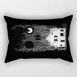 Horror house Rectangular Pillow