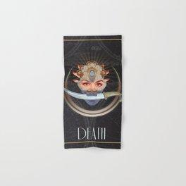 Death Tarot Hand & Bath Towel