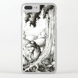Summer afternoon Clear iPhone Case