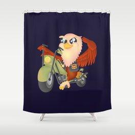 Cute Eagle Shower Curtain