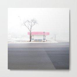 Frosty Freeze Metal Print