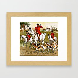 The Fox Jumped Over the Parson's Gate Framed Art Print