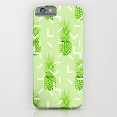 Summer Pineapples Slim Case iPhone 6s