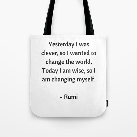 Rumi Inspirational Quotes - Change by myrainbowlove