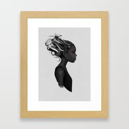Hard to say Framed Art Print