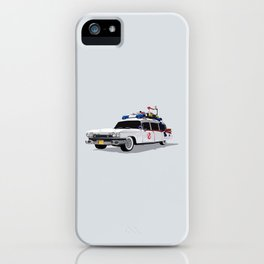 Ghostbusters Illustrated Ecto 1 iPhone Case