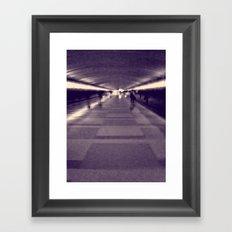 Into the Light. Framed Art Print