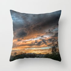 Vista (the sky is source of great beauty) Throw Pillow