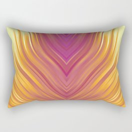 stripes wave pattern 3 lsi Rectangular Pillow