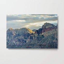 Red Rock Nevada Metal Print