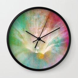 Good Morning Glory Wall Clock