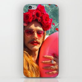 Selfies By The Pool James Franco Fan Art iPhone Skin