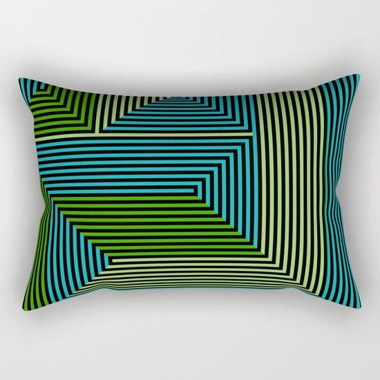 concentric 07 Rectangular Pillow